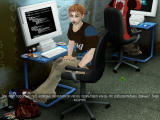 Jadernyj Titbit Windows Hacker in the internet cafe