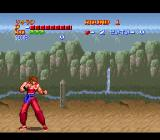 Golden Fighter - Hiryu No Ken S SNES Starting point - Side scrolling fight mode