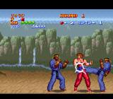 Golden Fighter - Hiryu No Ken S SNES OUCH!!! That kick hurts!!!