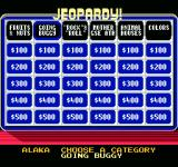 Jeopardy! Junior Edition NES choosing a category