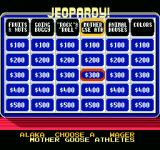 Jeopardy! Junior Edition NES choosing an amount to wager
