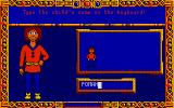 Once Upon A Time: Abracadabra Atari ST Giving a name to customized protagonist...