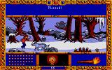 Once Upon A Time: Abracadabra Atari ST Using the torch on the wolf...