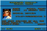 Thunderbirds: International Rescue Game Boy Advance Character profile