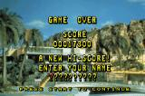 Thunderbirds: International Rescue Game Boy Advance Game over