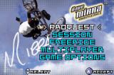 Dave Mirra Freestyle BMX 3 Game Boy Advance Menu