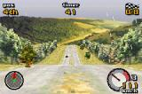 Top Gear Rally Game Boy Advance First-person view