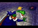 Blazing Dragons PlayStation King All-Fire (from a cutscene)