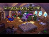 Blazing Dragons PlayStation Flicker's room. The adventure begins!