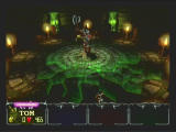 Gauntlet: Dark Legacy GameCube an end of level boss called Lich