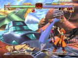 Guilty Gear X Dreamcast May has some really weird moves, with anchors and dolphins...