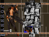 Guilty Gear X Dreamcast Character selection screen