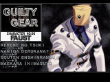 Guilty Gear X Dreamcast This is maybe the most bizarre character of the game