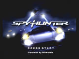 SpyHunter GameCube title screen