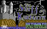 The Staff of Karnath Commodore 64 Opening screen