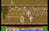 The Staff of Karnath Commodore 64 Blasting some animated armors