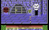 The Staff of Karnath Commodore 64 Enter the door before the skull blocks the way