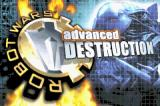 Robot Wars: Advanced Destruction Game Boy Advance Title screen