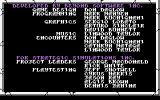 Gateway to the Savage Frontier Commodore 64 Credits