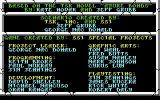 Curse of the Azure Bonds Commodore 64 Credits