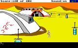 Space Quest: Chapter I - The Sarien Encounter Amiga Walking around town.