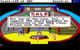 Space Quest: Chapter I - The Sarien Encounter Amiga In the droid shop.