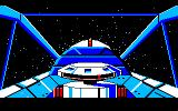 Space Quest: Chapter I - The Sarien Encounter Amiga Crusing through space.