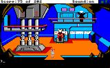 Space Quest: Chapter I - The Sarien Encounter Amiga Meeting with some friendly aliens.