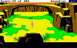 Space Quest: Chapter I - The Sarien Encounter Amiga Walking around.