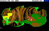 Space Quest: Chapter I - The Sarien Encounter Amiga Meeting the not so nice Orat.