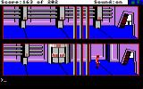 Space Quest: Chapter I - The Sarien Encounter Amiga Walking down the halls of the Deltaur.