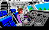 Space Quest II: Chapter II - Vohaul's Revenge Amiga At the controls of the shuttle.