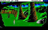 Space Quest II: Chapter II - Vohaul's Revenge Amiga Look at the big trees!