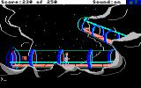 Space Quest II: Chapter II - Vohaul's Revenge Amiga Heading down a glass tube.