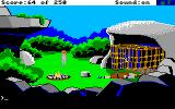 Space Quest II: Chapter II - Vohaul's Revenge Amiga Knocked out that sap!