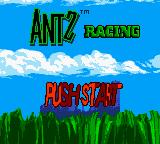 Antz Racing Game Boy Color Title screen
