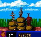 Antz Racing Game Boy Color Azteca is the first.You, Z, are in second place.