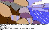 Mindshadow Commodore 64 Near a cave.