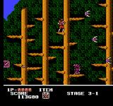Ninja Crusaders NES In the Devil's forest
