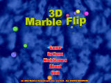 3D Marble Flip Windows Main menu