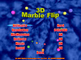 3D Marble Flip Windows Options screen