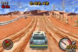 Top Gear Rally Game Boy Advance Championship in Death Plains