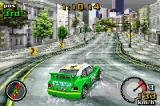Top Gear Rally Game Boy Advance Championship on Paradise City - rainy