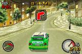 Top Gear Rally Game Boy Advance Championship on Paradise City - evening