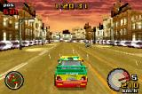 Top Gear: Rally Game Boy Advance Championship in Urban Thruway - rainy