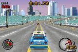 Top Gear Rally Game Boy Advance Championship in Urban Thruway - 3rd track