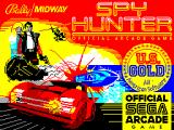 Spy Hunter ZX Spectrum Loading screen