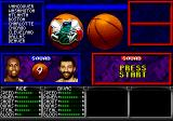 NBA Hang Time Genesis Choose a team to play as.