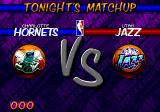 NBA Hang Time Genesis Tonight's matchup