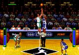NBA Hang Time Genesis The tip off